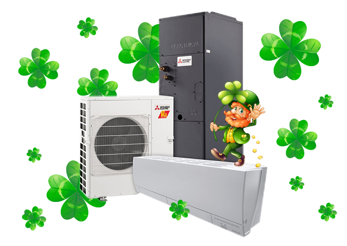 You don't need Irish luck to qualify for up to $9,000 in rebates!